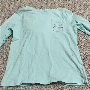 Girls vineyard vines hooded t shirt